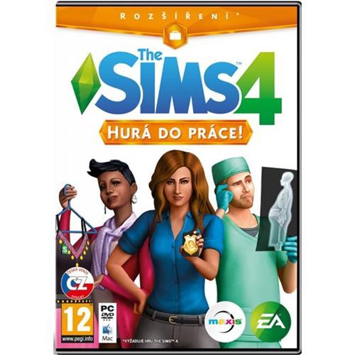 PC CD - The Sims 4 - Hurá do práce 5030937112519