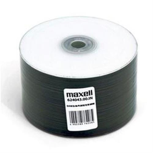 CD-R MAXELL Printable White 700MB 52X 50ks/spindel 624043