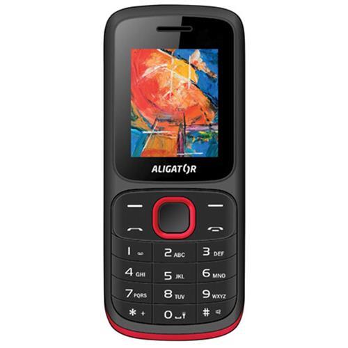 ALIGATOR D210 Dual sim čierno-červený AD210BR
