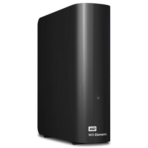 Ext. HDD 3.5'' WD Elements Desktop 14TB USB WDBWLG0140HBK-EESN