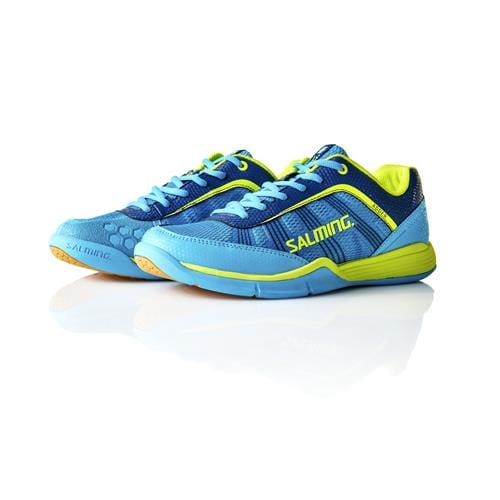 SALMING Adder Men Cyan/SafetyYellow 8 UK, 42 2/3 EUR