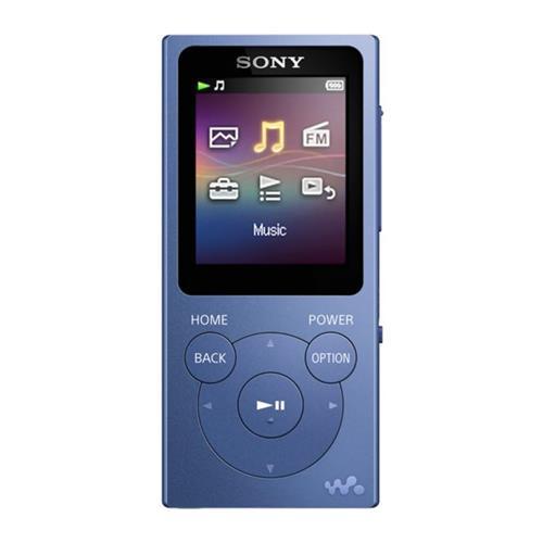 Sony MP4 prehrávač 4GB NWZ-E393 modrý NWE393L.CEW