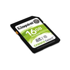 Kingston 16GB SDHC Class 10 UHS-I ( r80MB/s, w10MB/s )