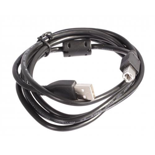 Kábel Gembird USB A-B 1,8m 2.0 HQ s feritovým jadrom CCF-USB2-AMBM-6