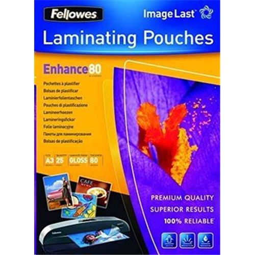 Laminovacia fólia A3 , 80 mic, 303x426 mm lesklá, 25 ks fólií 5396403