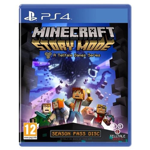 PS4 hra - Minecraft: Story Mode