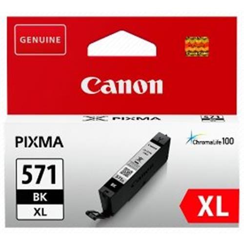Kazeta CANON CLI-571BK XL black MG 5750/5751/6850/6851/7750/7751 0331C001