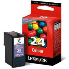 Kazeta LEXMARK No.24 color (190 str)