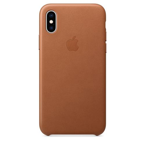 iPhone XS Leather Case - Saddle Brown MRWP2ZM/A