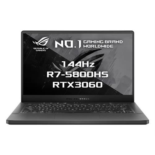 "ASUS ROG ZEPHYRUS G14 GA401QM-HZ011T AMD R7-5800HS 14"" FHD matný RTX3060/6G 16GB 1TB SSD WL BT Win10 CS sedy;FPR"
