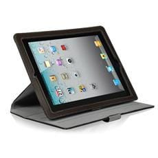 LUXA2 - Handy Accessories iPad 2 Metis Leather Stand Case (BLACK)