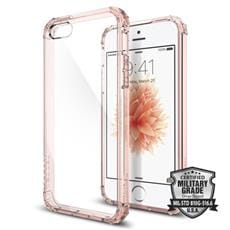 Spigen kryt Crystal Shell pre iPhone SE - Rose Crystal