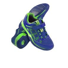 SALMING Viper 3 Kid Velcro Royal/GeckoGreen 13,5 UK, 32 EUR