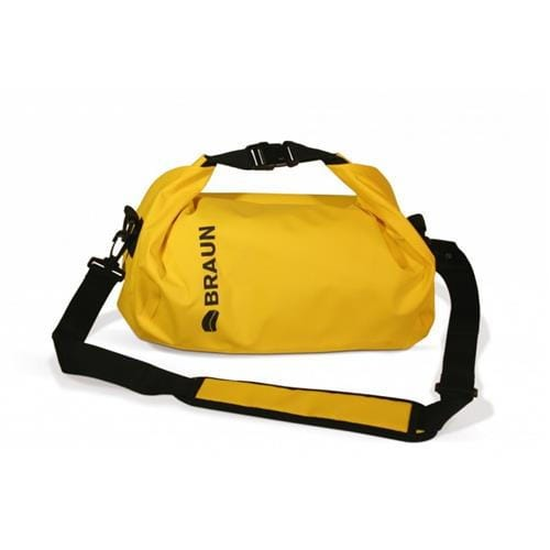 BRAUN vodotesný vak SPLASH Bag (30x15x16,5cm, žltý) 84005