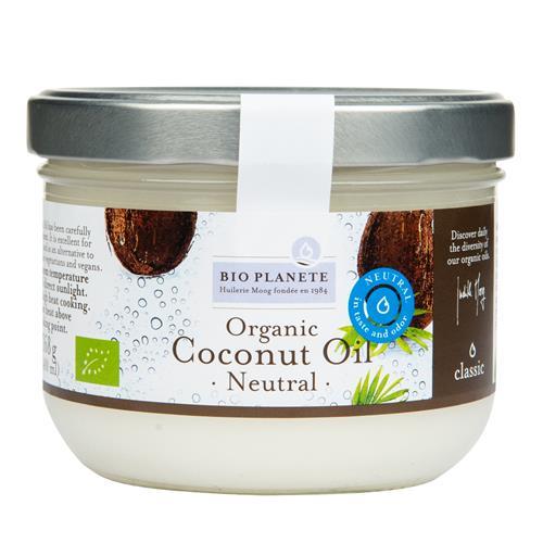 Olej kokosový dezodorizovaný 400 ml BIO BIO PLANETE 430073