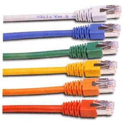 CNS patch kábel Cat5E, UTP - 0,5m , žltý PKU5E-005-YL