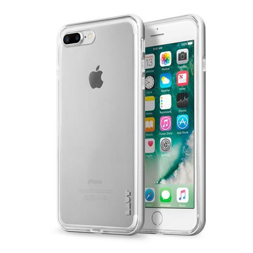 LAUT Exoframe case pre iPhone 8/7 Plus - Silver LAUT-IP7P-EX-SL