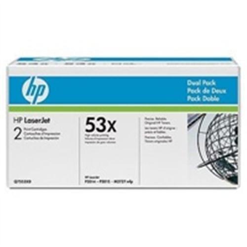 Toner HP Q7553XD Čierny pre LJ P2015, dual pack 2x70 00 strán