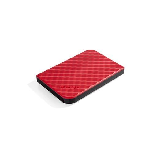 Ext. HDD Verbatim Store 'n' Go, 1TB, USB 3.0, 2.5'', červený 53203