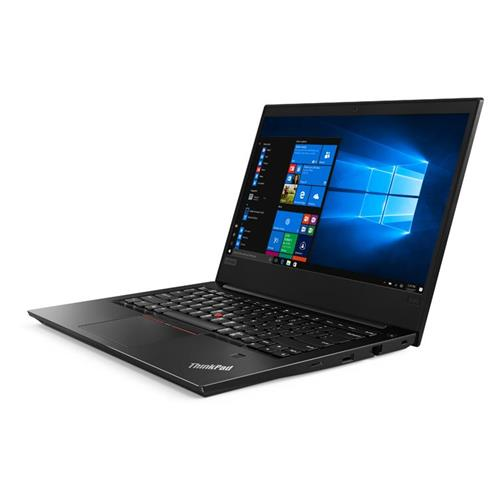 """Lenovo TP E480 i7-8550U 4.0GHz 14.0"""" FHD IPS matný AMD RX550/2GB 8GB 256GB SSD kb-light FPR W10Pro čierny 1y CI 20KN001NXS"""