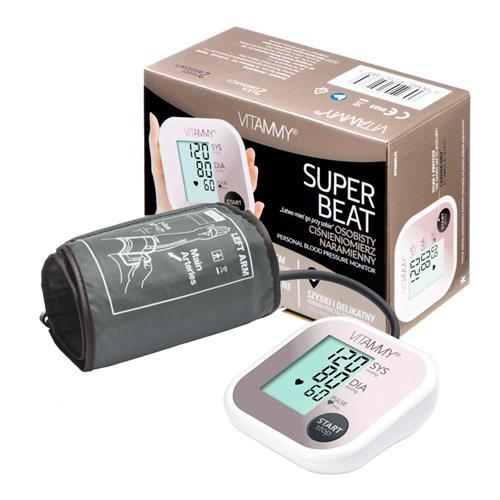 VITAMMY SUPER BEAT ramenný tlakomer, farba ružové zlato 415867