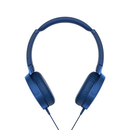 Slúchadlá SONY EXTRA BASS MDR-XB550AP, modré MDRXB550APL.CE7