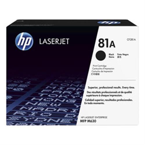 Toner HP CF281A HP81A čierny, 10500str.