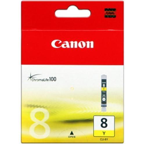 Kazeta CANON CLI-8Y yellow Pixma iP4200/5300, MP500/530/600/610/800 0623B001
