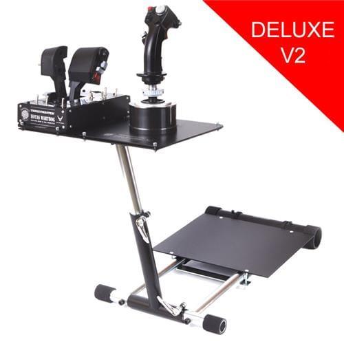 Wheel Stand Pro DELUXE V2, stojan na joystick pre Thrustmaster HOTAS WARTHOG, Saitek X55/Saitek X52