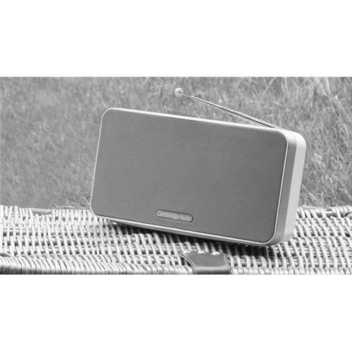 CA GO Radio prenosný stereo systém s Bluetooth biely C10743