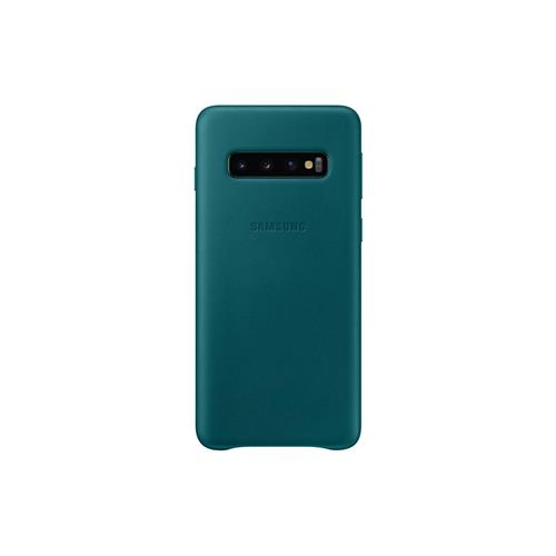 Samsung Leather Cover S10 Green EF-VG973LGEGWW