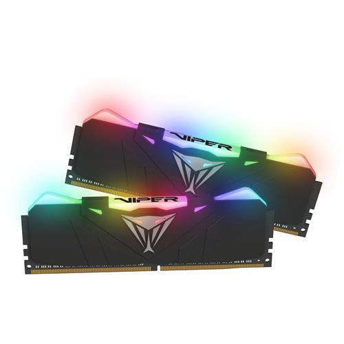 16GB DDR4-2666MHz RGB Patriot Viper CL15, kit 2x8GB black PVR416G266C5K