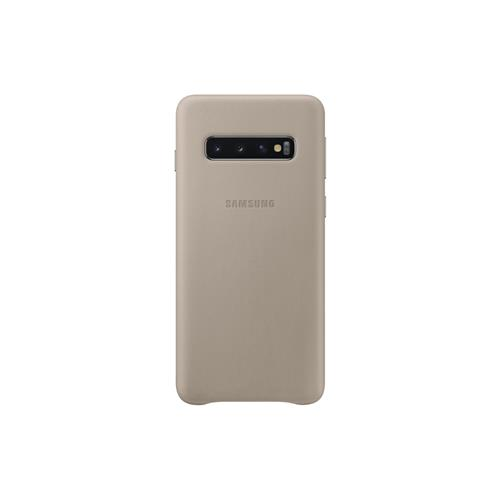 Samsung Leather Cover S10 Gray EF-VG973LJEGWW