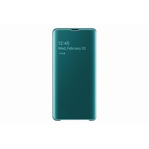 Samsung Flipové puzdro Clear View Cover S10+ Green EF-ZG975CGEGWW