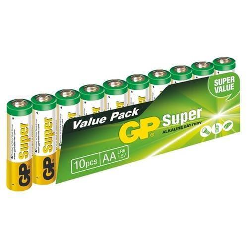 GP Super Alkaline 10ks AA 1013200102
