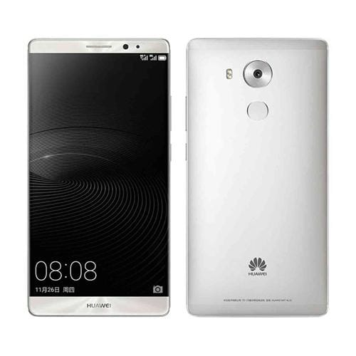 HUAWEI Mate 8 DS Midnight Silver 51090EHR