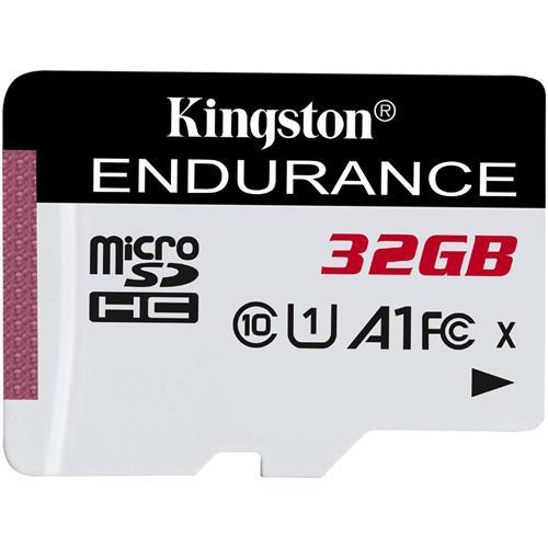 32GB microSDHC Kingston Endurance CL10 A1 95R/45W bez adaptéru SDCE/32GB