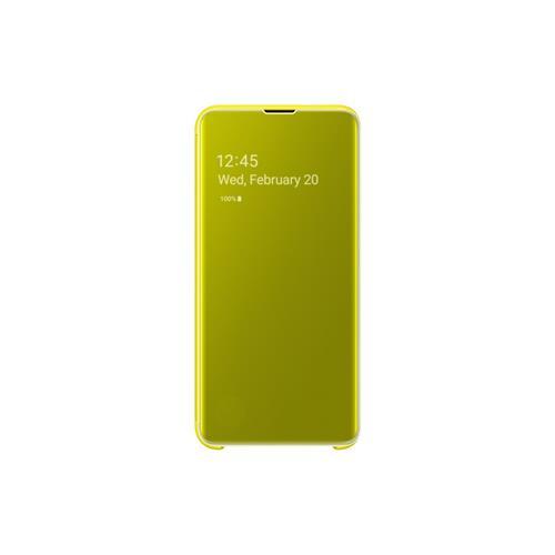 Samsung Flipové puzdro Clear View Cover S10e Yellow EF-ZG970CYEGWW