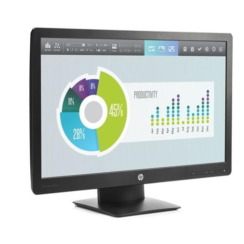 Monitor HP ProDisplay P240va, 23.8, VA/LED, 1920x1080 FHD, 3000:1, 8ms, 250cd, VGA, DP, HDMI