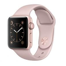 Apple Watch Series 1, 38mm Rose Gold Aluminium Case with Pink Sand Sport Band
