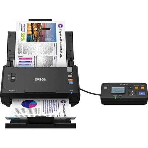 Skener EPSON WorkForce DS-520N A4, 600dpi, ADF, duplex, NET
