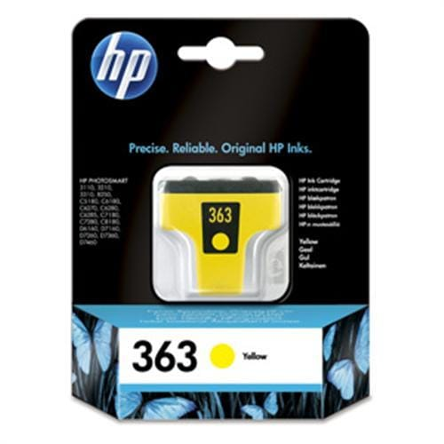Kazeta HP HPC8773EE Yellow No. 363 6 ml