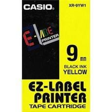 Páska CASIO XR-9YW1 Black On Yellow Tape EZ Label Printer (9mm)