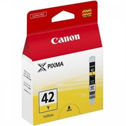 Kazeta CANON CLI-42Y yellow PIXMA Pro 100 6387B001