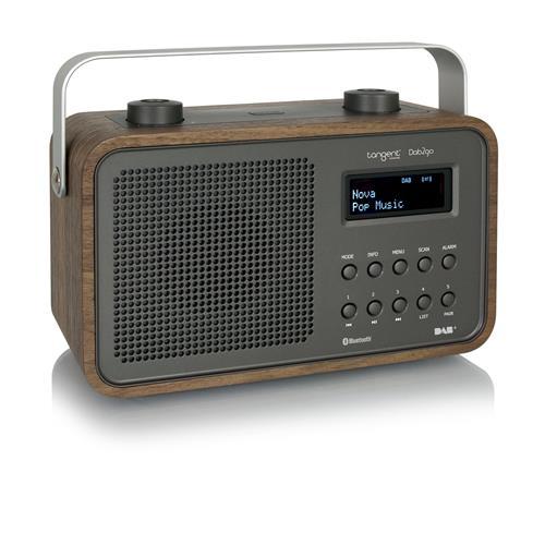 Rádio Tangent DAB2go BT Walnut 23038