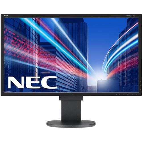 Monitor NEC MultiSync LCD EA244WMi-BK, 24, W-LED IPS, 1920x1200, 1000:1, 5ms, 350cd, audio, D-SUB, DVI, DP, HDMI, USB (1+4) BK, čierny