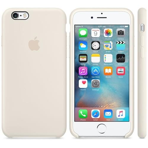 Apple iPhone 6S Silicone Case Antique White MLCX2ZM/A