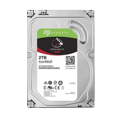 Pevný Disk Seagate IronWolf 2TB, 64MB, SATAIII, 5900rpm, NAS ST2000VN004