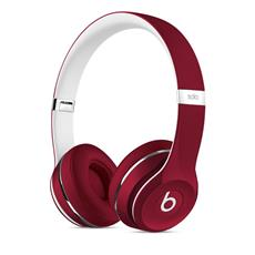 Apple Beats Solo2 On-Ear Headphones Luxe - Red