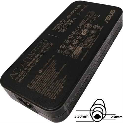 ASUS AC NAPÁJACÍ ADAPTÉR 120W 19V 3pin 5,5x2,5mm neobsahuje PW CORD CEE B04G266006100